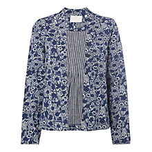 Buy White Stuff Summer Breeze Jacket, Navy Online at johnlewis.com