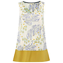 Buy White Stuff Linen Antigua Vest, Nectar Yellow Online at johnlewis.com