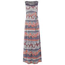 Buy White Stuff Etch Maxi Dress, Papaya Pink Online at johnlewis.com