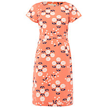 Buy White Stuff Illustrators Dress, Papaya Pink Online at johnlewis.com