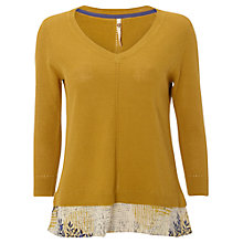 Buy White Stuff Midsummer Jumper, Nectar Yellow Online at johnlewis.com