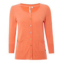 Buy White Stuff Nancy Cardigan, Papaya Pink Online at johnlewis.com