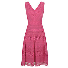 Buy Fenn Wright Manson Sanzio Lace Dress, Pink Online at johnlewis.com