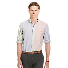 Buy Polo Ralph Lauren Button Down Pin Point Collar Shirt Online at johnlewis.com