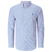 Buy Polo Ralph Lauren Slim Fit Button Down Point Collar Short Sleeve Shirt Online at johnlewis.com
