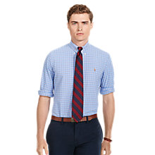 Buy Polo Ralph Lauren Long Sleeve Check Shirt, Blue/Multi Online at johnlewis.com