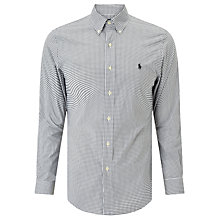 Buy Polo Ralph Lauren Check Sport Slim Fit Shirt, White/Onyx Online at johnlewis.com