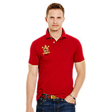 Buy Polo Ralph Lauren Short Sleeve Custom Fit Featherweight Polo Shirt Online at johnlewis.com