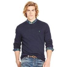 Buy Polo Ralph Lauren Long Sleeve Crew Neck Sweater Online at johnlewis.com
