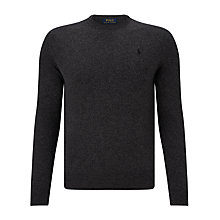 Buy Polo Ralph Lauren Long Sleeve Crew Neck Merino Sweater Online at johnlewis.com