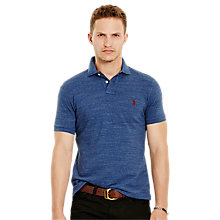 Buy Polo Ralph Lauren Short Sleeve Custom Fit Polo Shirt Online at johnlewis.com