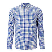 Buy Polo Ralph Lauren Check Poplin Slim Fit Sport Shirt, Blue/Pink Online at johnlewis.com
