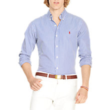 Buy Polo Ralph Lauren Slim Fit Button Down Point Collar Long Sleeve Shirt Online at johnlewis.com