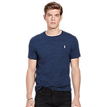 Buy Polo Ralph Lauren Short Sleeve Custom Fit T-shirt Online at johnlewis.com