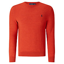 Buy Polo Ralph Lauren Crew Neck Jumper Online at johnlewis.com