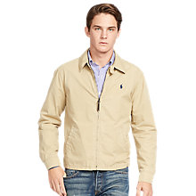 Buy Polo Ralph Lauren Landon Lined Jacket, Desert Tan Online at johnlewis.com