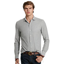 Buy Polo Ralph Lauren Full Button Jersey Top Online at johnlewis.com