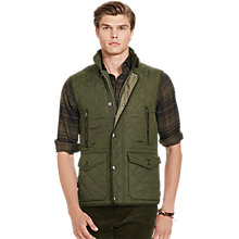 Buy Polo Ralph Lauren Diamond-Quilted Gilet Online at johnlewis.com
