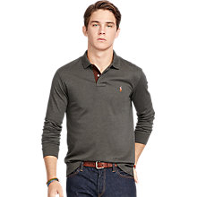 Buy Polo Ralph Lauren Custom Fit Pima Cotton Long Sleeve Polo Shirt Online at johnlewis.com