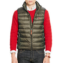 Buy Polo Ralph Lauren Packable Down Fill Gilet Online at johnlewis.com ...