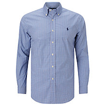 Buy Polo Ralph Lauren Pin Point Collar Shirt, Liberty Blue/White Online at johnlewis.com