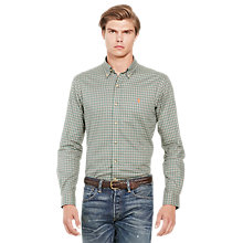 Buy Polo Ralph Lauren Slim Fit Button Down Pin Point Collar Shirt Online at johnlewis.com