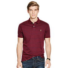 Buy Polo Ralph Lauren Regular Fit Stripe Polo Shirt Online at johnlewis.com