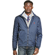 Buy Polo Ralph Lauren Retford Windbreaker Jacket, Aviator Navy Online at johnlewis.com