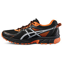 Buy Asics Gel-Sonoma 2 Men's Trail Running Shoes, Black/Orange Online at johnlewis.com