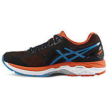 Buy Asics GT-2000 4 Men's Running Shoes, Black/Blue Online at johnlewis.com