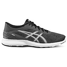 Buy Asics NitroFuze Men's Running Shoes, Grey/White Online at johnlewis.com