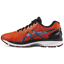 Buy Asics Gel Nimbus 18 Men's Neutral Running Shoes, Orange/Black Online at johnlewis.com