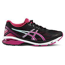 Buy Asics GT-1000 5 Women's Running Shoes, Black/Pink Online at johnlewis.com