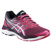 Buy Asics Gel-Cumulus 18 Women's Running Shoes, Pink/Blue Online at johnlewis.com