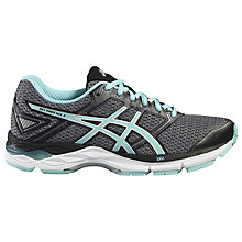 Buy Asics Gel-Phoenix Women's Running Shoes, Black/Blue Online at johnlewis.com