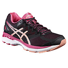 Buy Asics GT-2000 4 Women's Running Shoes, Black/Pink Online at johnlewis.com