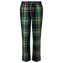Buy Polo Ralph Lauren Hastings Check Lounge Pants, Green Online at johnlewis.com