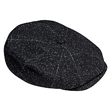Buy Ted Baker Baker Boy Hat, Black Online at johnlewis.com