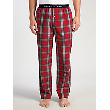 Buy Polo Ralph Lauren Baird Check Lounge Pants, Red Online at johnlewis.com