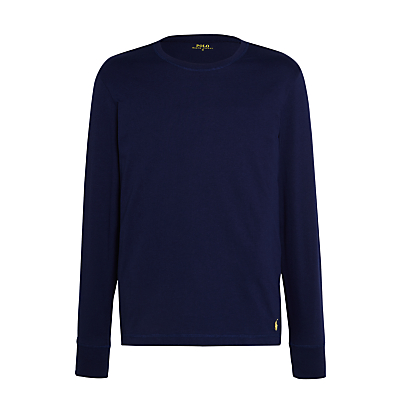 Polo Ralph Lauren Long Sleeve Lounge T-Shirt, Navy