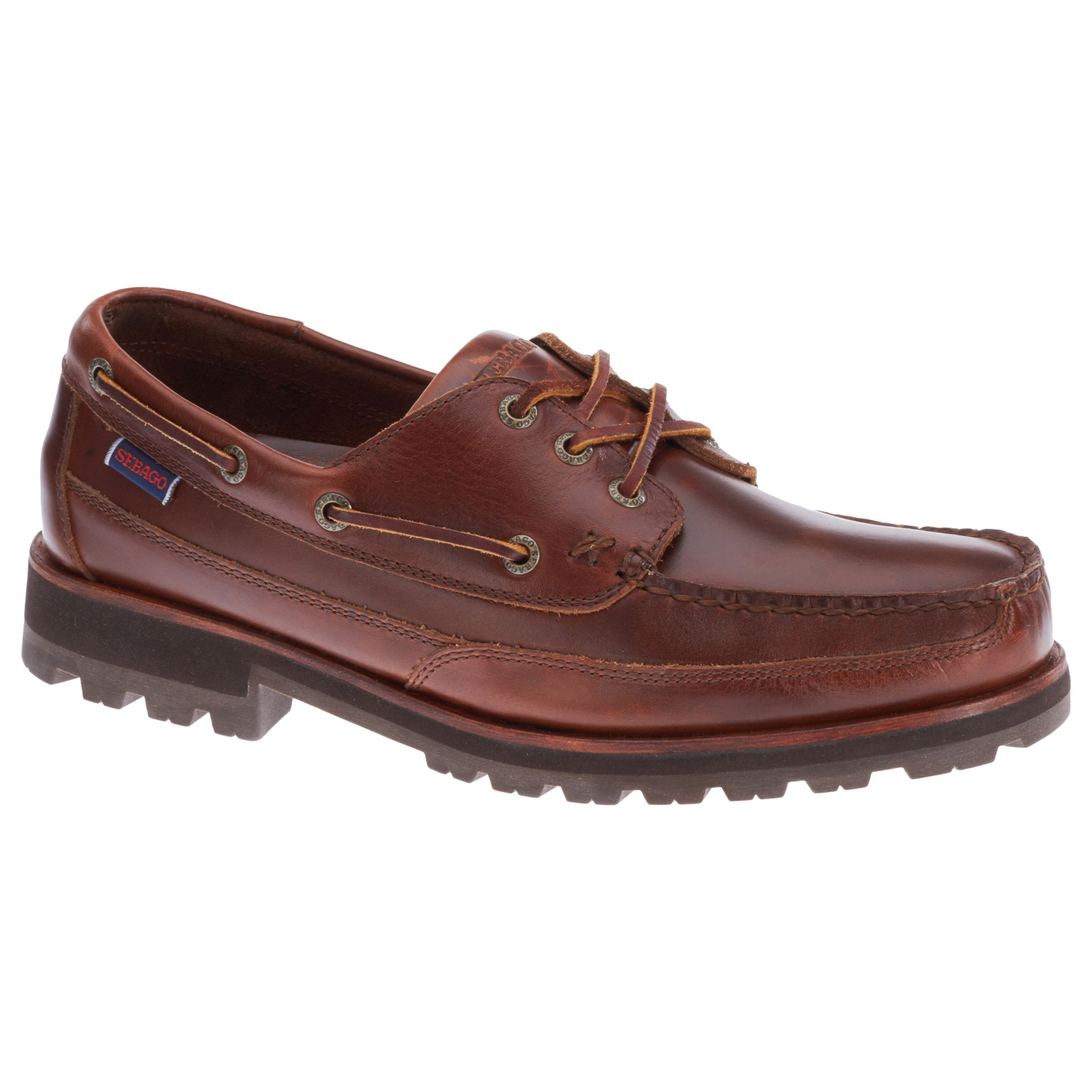 Sebago Sebago Vershire 3 Eyelet Shoes, Brown