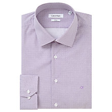 Buy Calvin Klein Geo Diamond Print Fitted Shirt, Concord Online at johnlewis.com