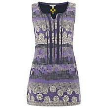 Buy White Stuff Raisin Jersey Tunic Top, Corn Blue Online at johnlewis.com