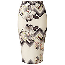Buy Miss Selfridge Floral Skirt, Multi Online at johnlewis.com