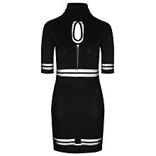 Buy True Decadence Turtleneck Bodycon Dress, Black Online at johnlewis.com