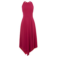 Buy Karen Millen Fluid Midi Dress, Magenta Online at johnlewis.com