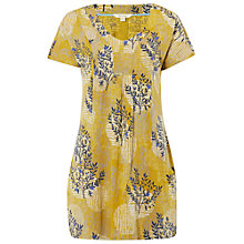 Buy White Stuff Clementine Tunic Top, Nectar Yellow Online at johnlewis.com