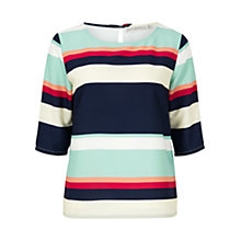 Buy Sugarhill Boutique Flo Summer Stripe Top, Multi Online at johnlewis.com
