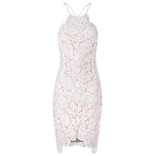 Buy True Decadence Halterneck Lace Bodycon Dress Online at johnlewis.com