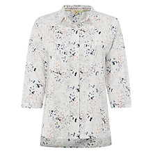 Buy White Stuff Doodle Shirt, White Online at johnlewis.com